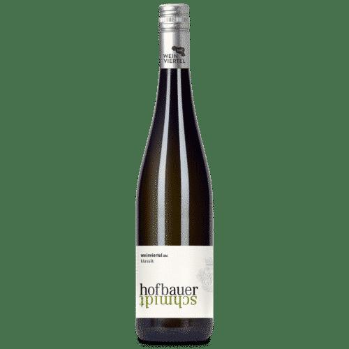 Flasche Weinviertel DAC klassik
