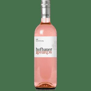 Flasche Rosé