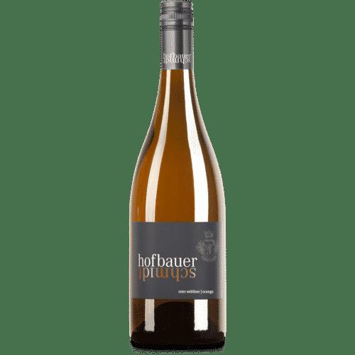 Flasche Roter Veltliner Orange Wine
