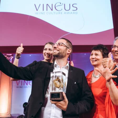 Johannes ist VINEUS Newcomer Winzer des Jahres 2018