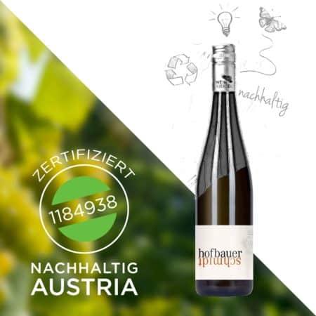 Wir sind NACHHALTIG AUSTRIA zertifiziert