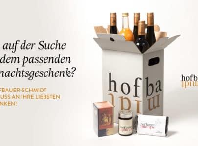 Freude schenken mit der Hofbauer-Schmidt Weihnachtsbox