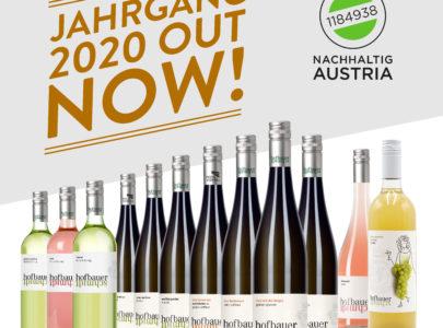 Neuer Weinjahrgang 2020