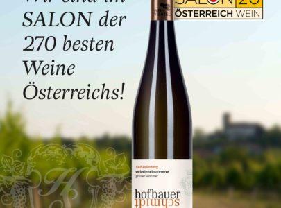 SALON der 270 besten Weine Österreichs!
