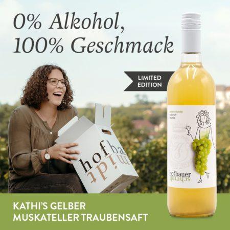 Kathi's erster naturtrüber Traubensaft – NEU im Sortiment