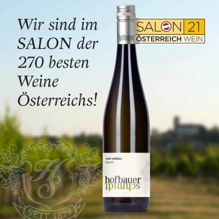Roter Veltliner Klassik 2020 im SALON Österreich Wein!